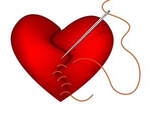 heart stitches